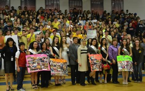 Dance team celebrates its senior members