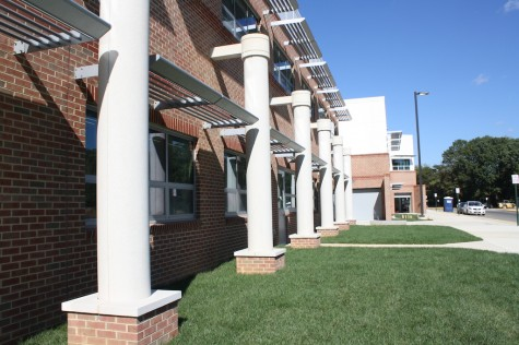 New labs and front walkway open for student use