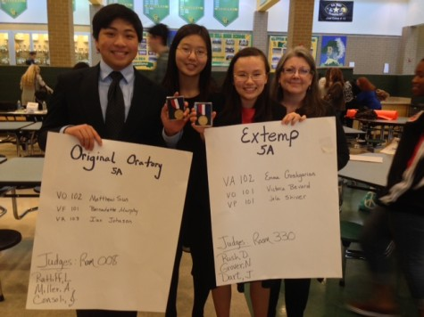 Jefferson Speech team wins first in two categories at States