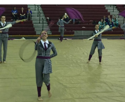 Jefferson Colorguard wins third place at regional competition