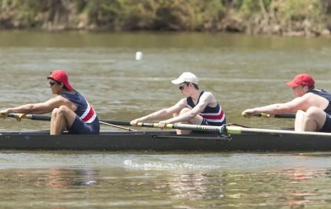 Novice boys crew team travels to St. Andrews School for first regatta of the season