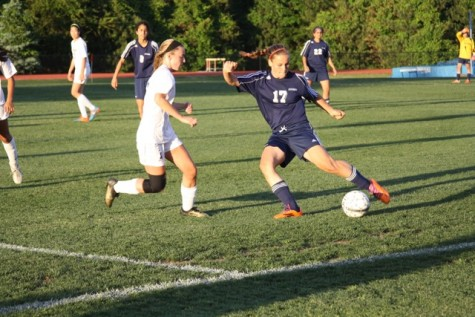 Varsity girls' soccer advances to Capitol Conference Finals