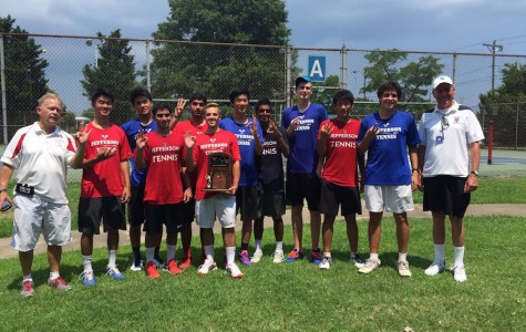 Boys tennis finishes season on a high note
