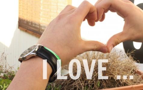 I love …