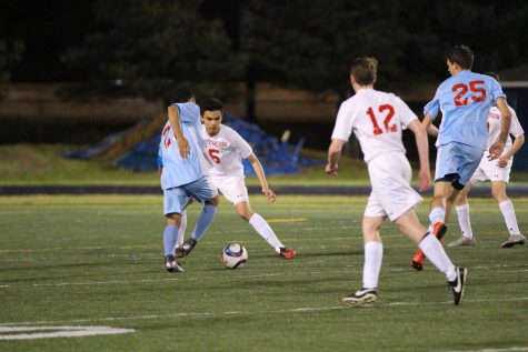 Boys varsity soccer competes in capitol conference semifinals