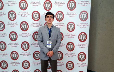 Rising junior serves as delegate to the Congress of Future Medical Leaders