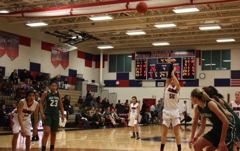 Girls varsity basketball reflects on last Friday's sweep