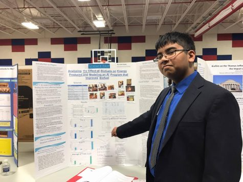 Students display enthusiasm through projects at the Jefferson Science Fair