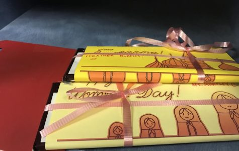 Russian Honor Society sends chocolates for International Women's Day