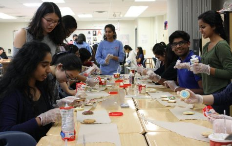 National Honor Society hosts cookie-decorating and card-making event for local firefighters