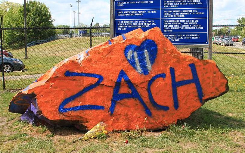 Class of 2011 graduate Zachary Brunt is remembered by the community