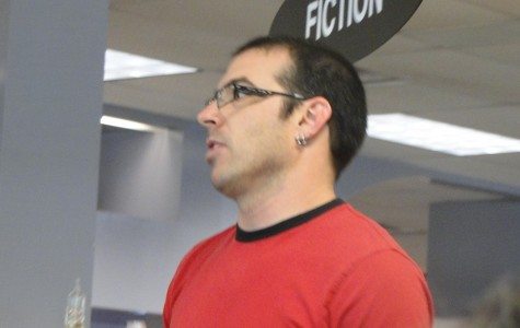 Award-winning sci-fi writer talks to seniors