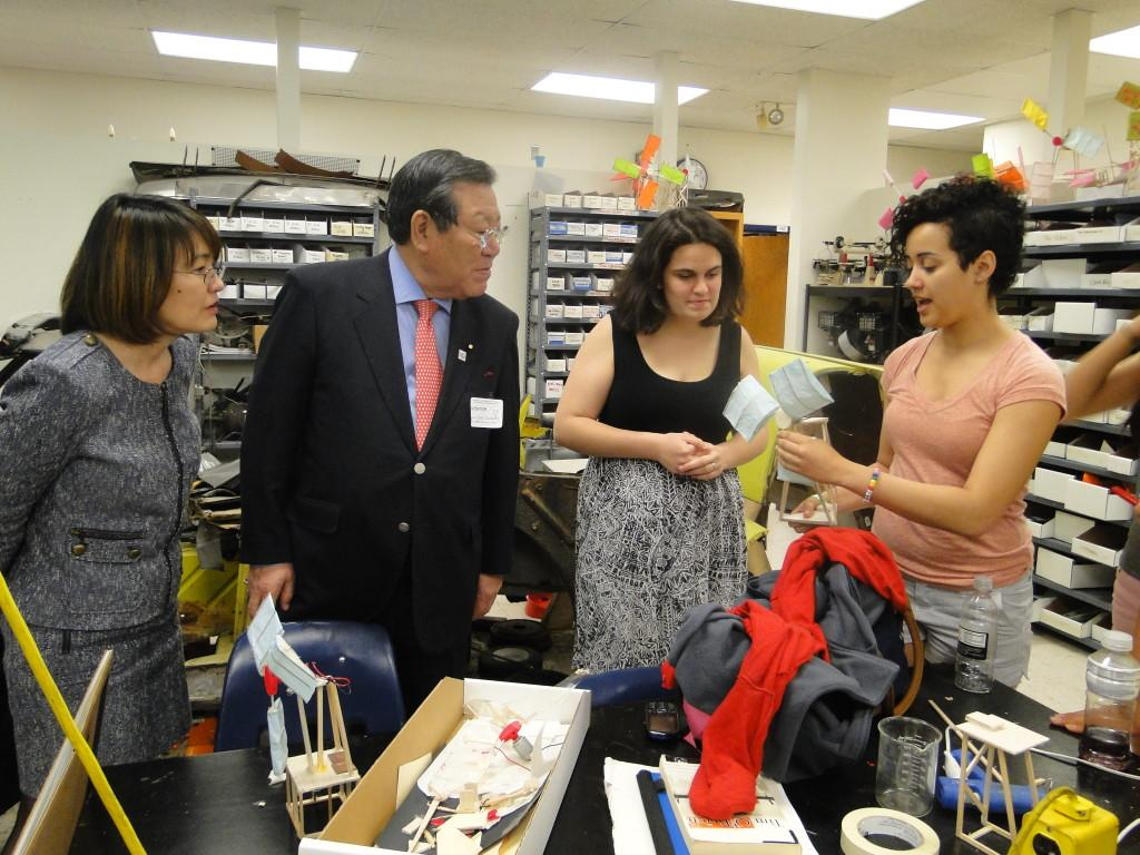 Japanese+Deputy+Secretary+of+Education+visits+Jefferson