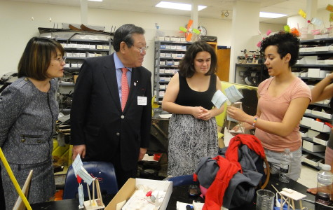 Japanese Deputy Secretary of Education visits Jefferson