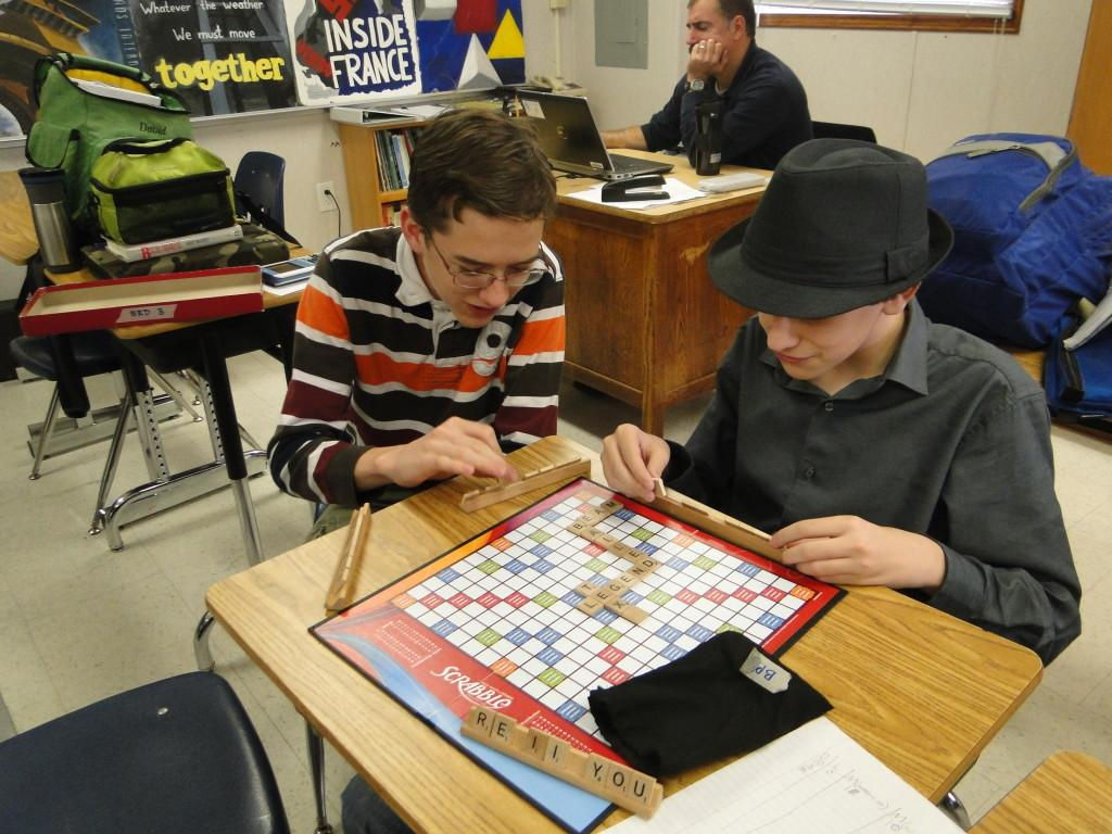 Scrabble Club ties linguistics to strategy