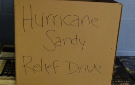 Key Club and SLAVA host Hurricane Sandy relief drive