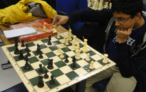 Chess Club exercises students' gray matter