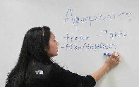 Students plan to design aquaponics