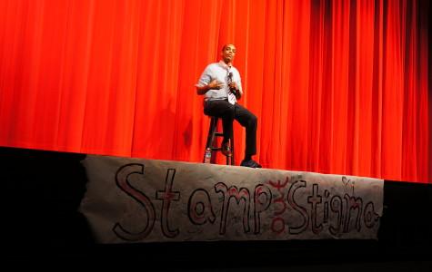 Burnham shares inspirational story