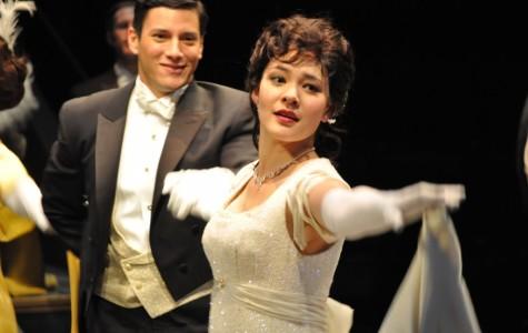 Manna Nichols dances as Eliza Doolittle in