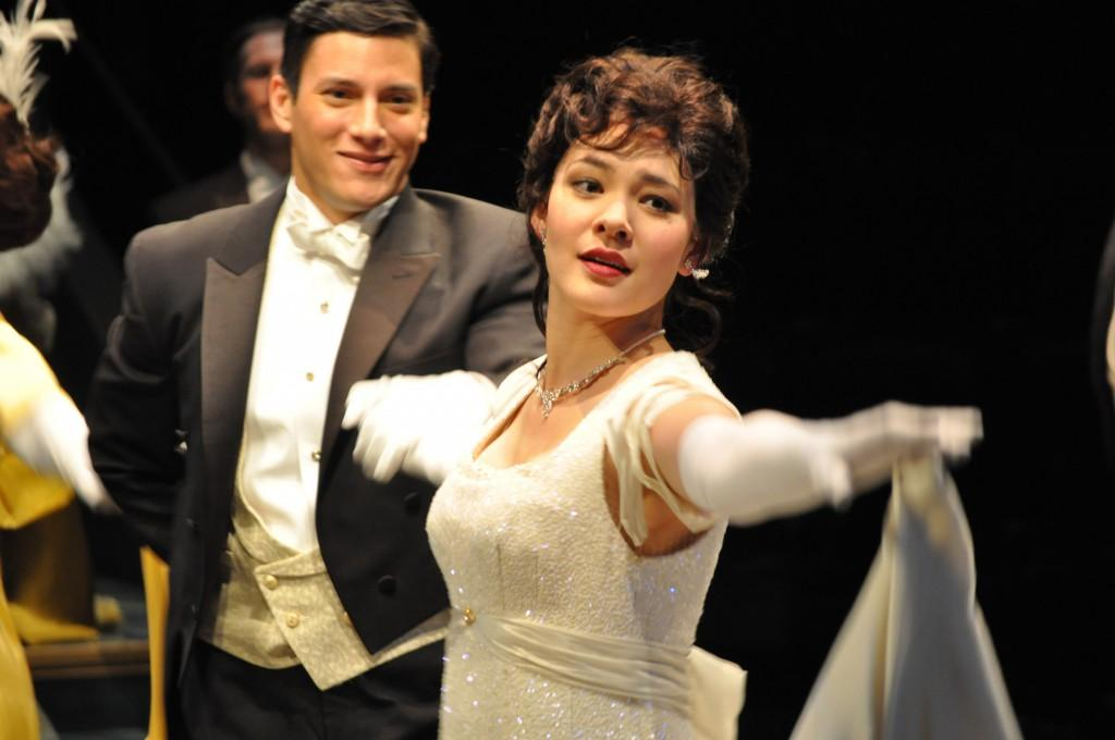 Manna Nichols dances as Eliza Doolittle in