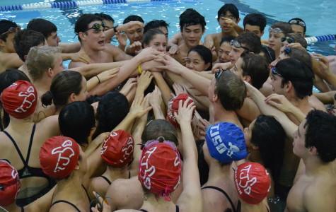 Swim and Dive ends regular season with McLean meet