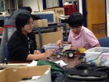 Students prepare for robotics competition