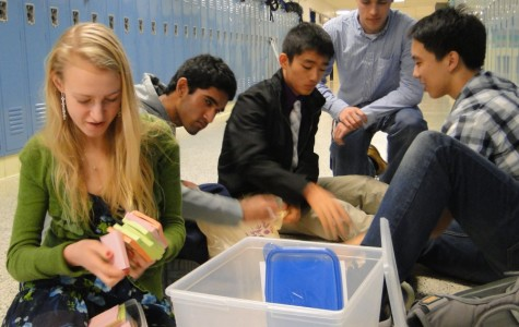 Clubs prepare for science and technology outreach event
