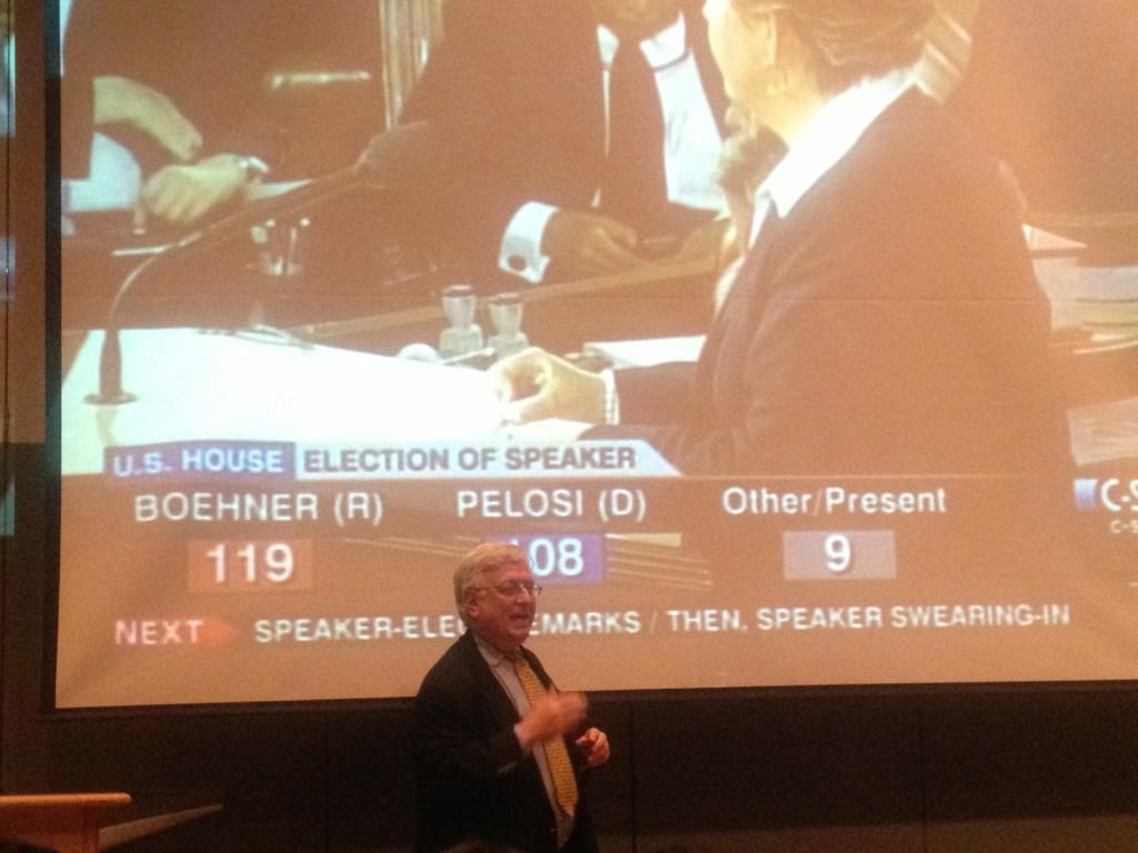 Journalist shares experience of reporting on Congressional activities