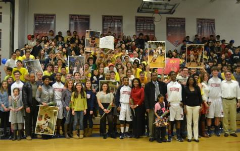 Varsity basketball toppled on Senior Night
