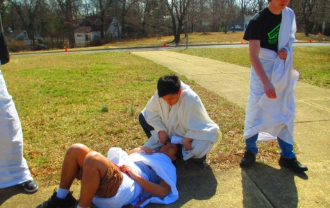 Latin students celebrate Ides of March