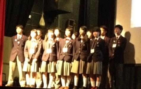 Students celebrate anniversary of exchange program