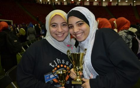 Sophomore Reem Mohamed and junior Anwar Omeish attended the Muslim Interscholastic Tournament (MIST) along with seven other MSA members.