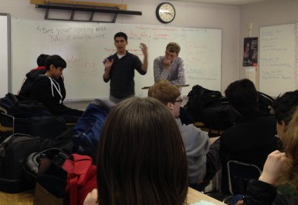 Mock Trial club debates DOMA