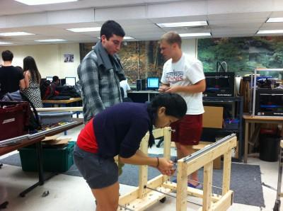 Jefferson's FIRST Robotics Team travels to Chesapeake Regionals