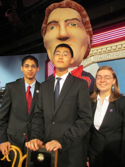 TJ Quiz Bowl takes third place in 'It's Academic' finals