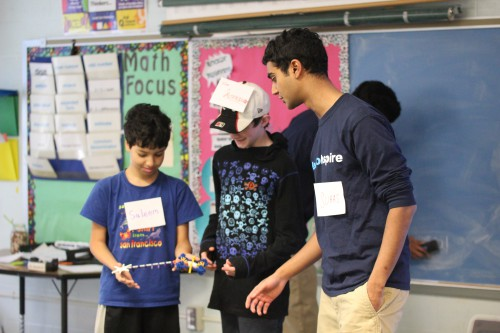 Students establish outreach program focused on neuroscience