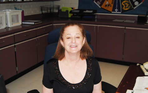 Laurie Kobick finishes her last year in the College and Career Center