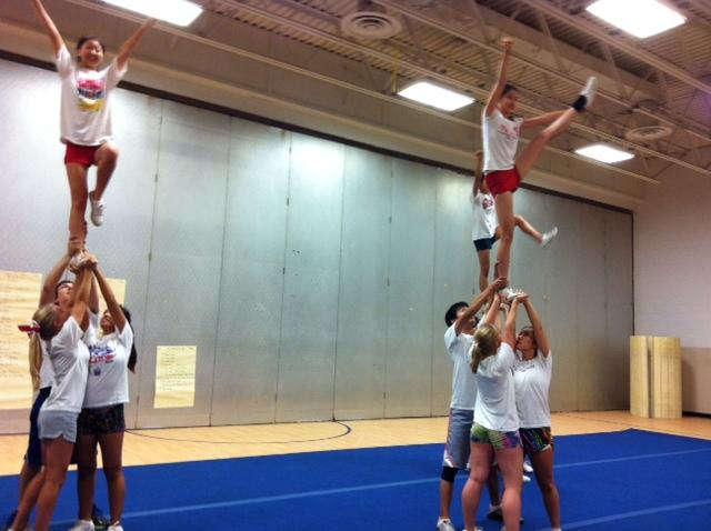Varsity+cheer+has+already+been+practicing+for+several+weeks+to+prepare+for+districts.