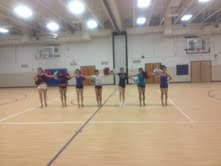 Dance team celebrates its senior members
