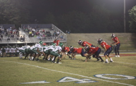The Colonials scored a victory over the Wakefield High School Warriors on Sept. 20. Photo by Sandy Cho.
