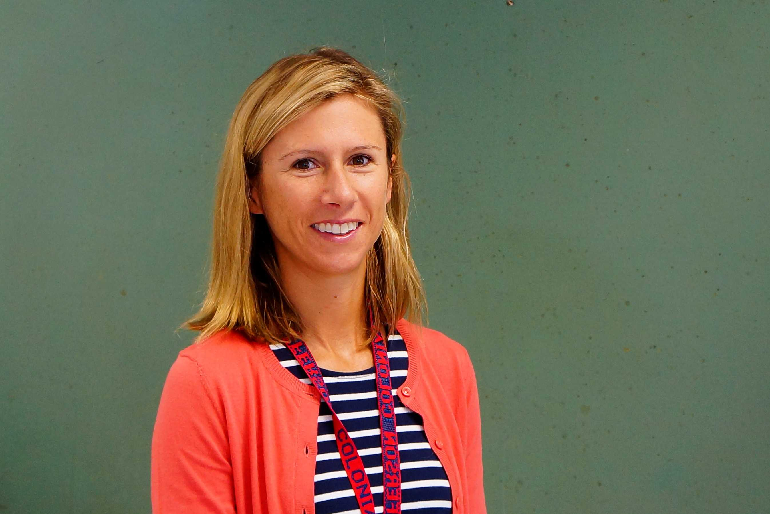 One of Jefferson's new history teachers, Elizabeth Sheptyck looks forward to helping students explore their interests.
