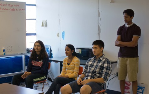 Active Minds panelists lend a helping hand to underclassmen