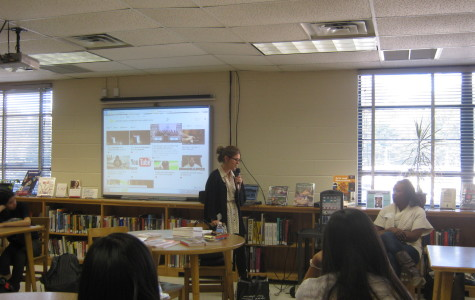 Spokespeople from Writopia Labs D.C. came to Jefferson for an information session about the Scholastic Writing Awards.