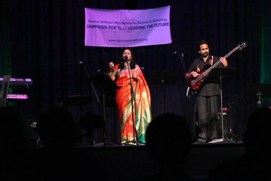 Local band Desi Rain performs at the Partnership Fund Benefit Concert at Jefferson on Sept. 28.