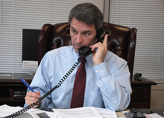 Republican candidate for governor, Ken Cuccinelli.  Photo courtesy of oag.state.va.us