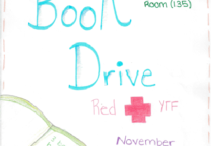 Red Cross YTF is hosting a book drive for the residents of NVTC.