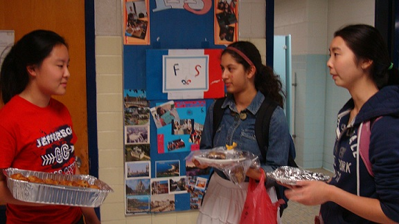 Students hold bake sales to raise money for Relay For Life.