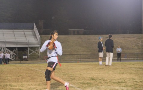 Upperclassmen vie for victory in Powderpuff game