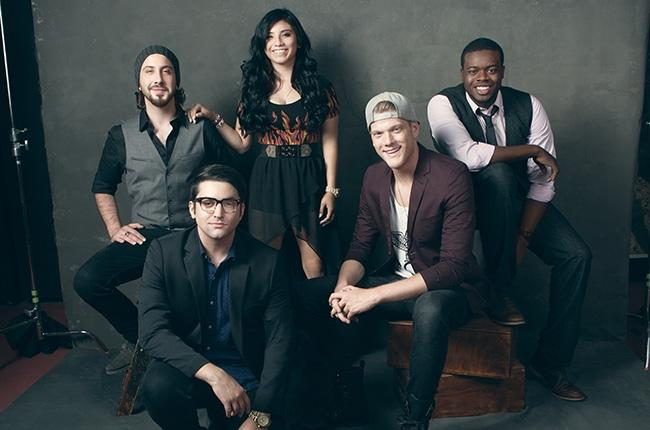 Left+to+right%3A+Avi+Kaplan%2C+Mitch+Grassi%2C+Kirstie+Maldonado%2C+Scott+Hoying+and+Kevin+Olusola+are+members+of+the+talented+a+capella+group+known+as+Pentatonix.+Photo+courtesy+of+Billboard.